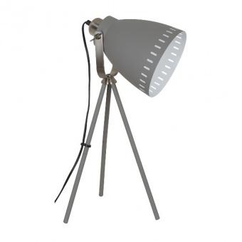 метална работна лампа, grey/nickel matt, nino, makky, 1x40w, 50610148