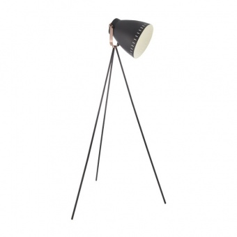 метален лампион, black/copper, nino, makky, 1x40w, 40610108