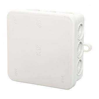 разклонителна кутия, външен монтаж, квадрат,ip54, сива, olan, fd12