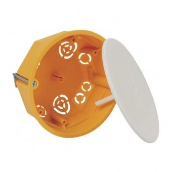 разклонителна кутия за гипсокартон, с капак, ф97, жълта, kopos kolin, ko97/l, 62107