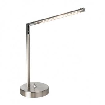 led работна лампа, nickel matt, nino, stilo, led 4w, 3000k, 320lm, 52520101