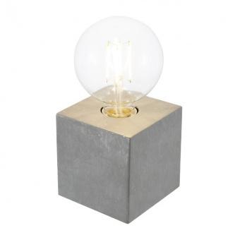 метална настолна лампа, beton, nino, leone, 1x40w, 50240148