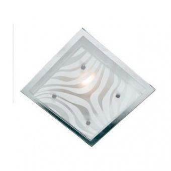 стъклен плафон, chrome, nino, wave, 1x40w, 63510106