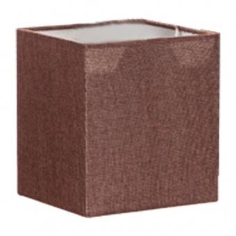 абажур за полилей, кафяв, elbulgaria, 1x40w, за фасунга е27, 736 ze-06