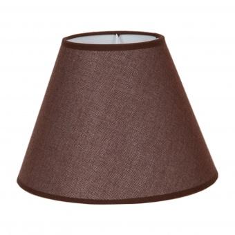 абажур за настолна лампа, кафяв, elbulgaria, 1x40w, за фасунга е27, 736 zb-06