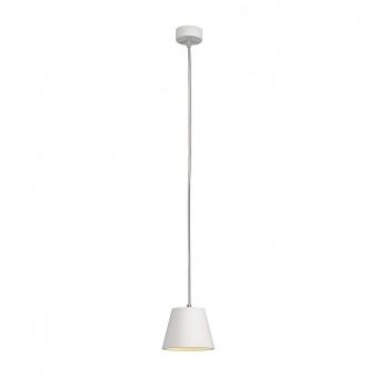 пендел от гипс, white, slv, plastra cone, 1x11w, 148041
