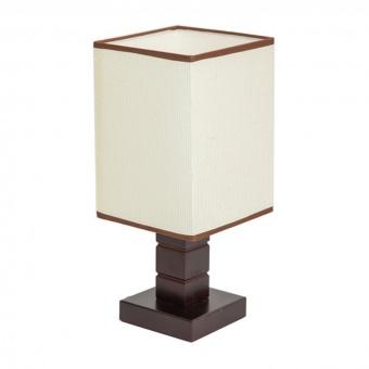 текстилна настолна лампа, кафяв, elbulgaria, 1x40w, 866 cf