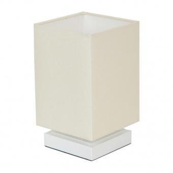 текстилна настолна лампа, бял, elbulgaria, 1x40w, 867 wh
