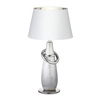 керамична настолна лампа, silver coloured, rl, thebes, 1x40w, r50641089