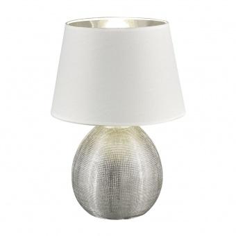 керамична настолна лампа, silver coloured, rl, luxor, 1x40w, r50631089