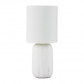 керамична настолна лампа, white, rl, clay, 1x40w, r50411001