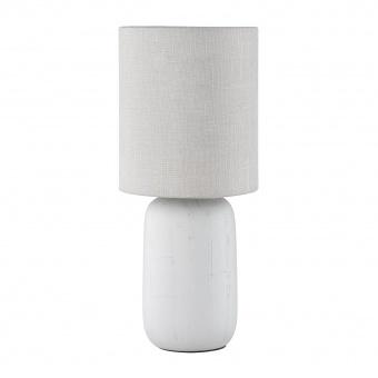 керамична настолна лампа, cappuccino, rl, clay, 1x40w, r50411025