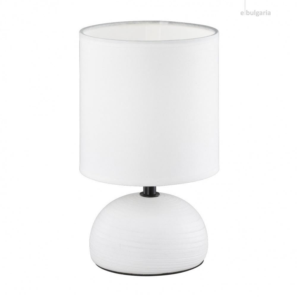 керамична настолна лампа, white, rl, luci, 1x40w, r50351001