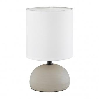 керамична настолна лампа, cappuccino, rl, luci, 1x40w, r50351025