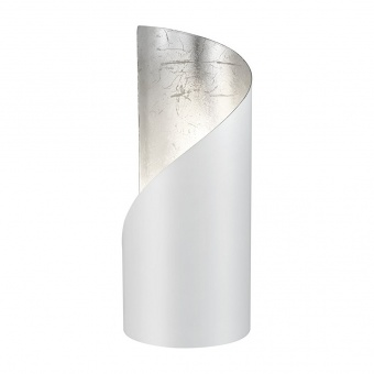 метална настолна лампа, white mat, rl, frank, 1x25w, r50161031