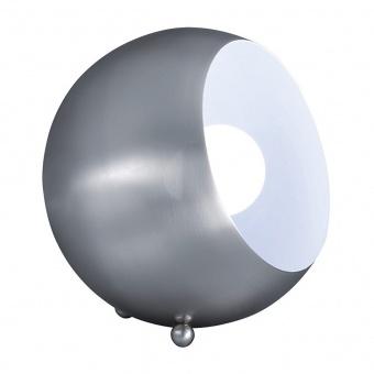 метална настолна лампа, nickel mat, rl, billy, 1x28w, r50101007