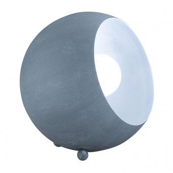 метална настолна лампа, concrete look, rl, billy, 1x28w, r50101078