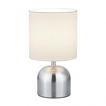 тестилна настолна лампа, nickel mat, rl, jan, 1x40w, r59071007