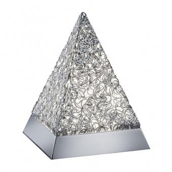 метална настолна лампа, chrome, rl, paul, led 1x5.5w, 430lm, 2900k, r52241106