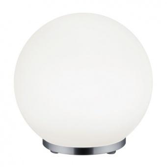 метална настолна лампа, chrome, rl, george, led 1x5.5w, 430lm, 2900k, r52211106