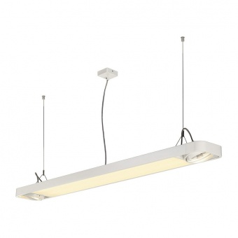 линеен полилей, white, slv, aixlight r2, led 1x33.5w+2x75w, 4000k, 4100lm, 159141