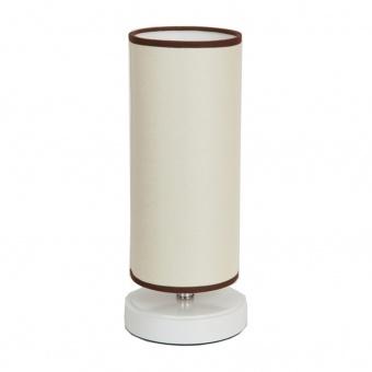 текстилна настолна лампа, бял, elbulgaria, 1x40w, 868 wh