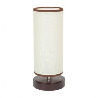 текстилна настолна лампа, кафяв, elbulgaria, 1x40w, 868 cf