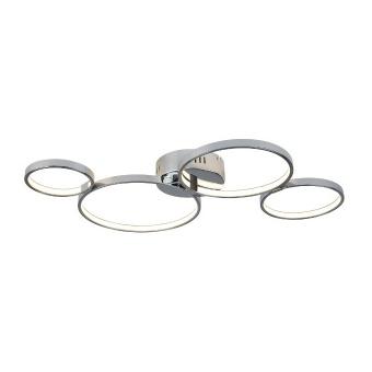 метален плафон, chrome, searchlight, solexa, led 1x30w, 3000k, 1600lm, 2004-4cc