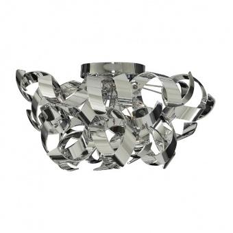метален плафон, chrome, searchlight, curls, 3x7w, 4973-3cc