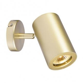 метален спот, brass, slv, enola_b spot 1, 1x50w, 152013