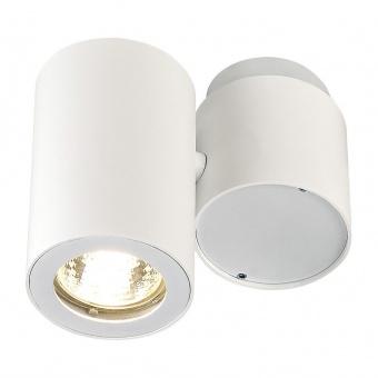 метален спот, white, slv, enola_b spot single, 1x50w, 151821