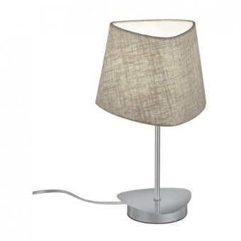 текстилна настолна лампа, begrudge, trio, crosby, 1x40w, 504600107