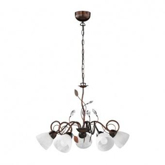 метален полилей, antique rust, trio, traditio, 5x40w, 110700528
