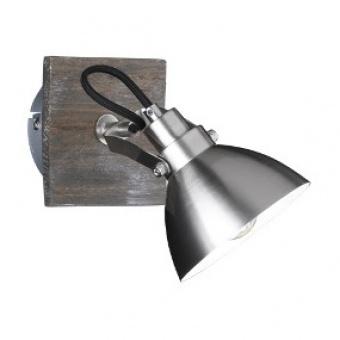 метален спот, nickel mat, trio, timber, 1x40w, 805000130