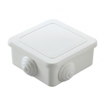 разклонителна кутия, външен монтаж, квадрат,ip44, бяла, makel, 10028