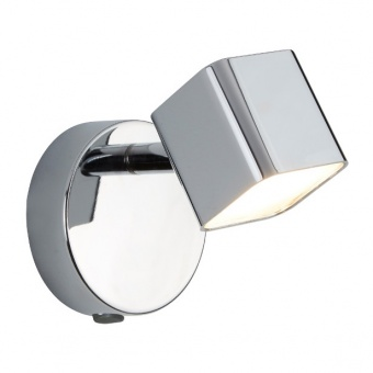 метален аплик, chrome, searchlight, quad, led 1x4w, 3000k, 350lm, 4231cc