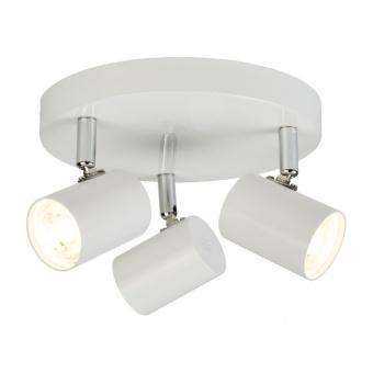 метален спот, white, searchlight, rollo, led 3x4, 3000k, 1050lm, 3173wh