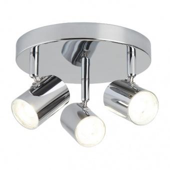 метален спот, chrome, searchlight, rollo, led 3x4, 3000k, 1050lm, 3173cc