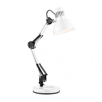 метална работна лампа, white, searchlight, table lamps, 1x10w, eu2429wh