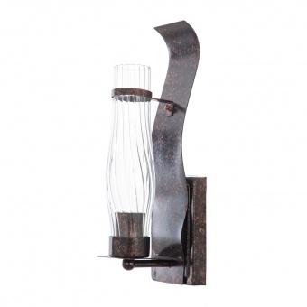 метален аплик, тъмно кафяв, elbulgaria, 1x40w, 1162/1w bdr