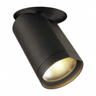 метален спот, matt black, slv, bilas, led 1x20w, 2700k, 1250lm, 25°, 156400