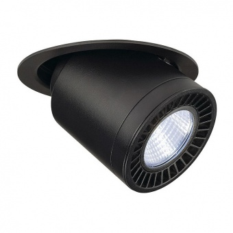 метална луна, black, slv, supros, led 1x28w, 4000k, 2100lm, 114170