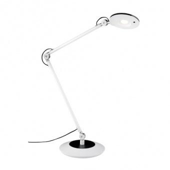 метална работна лампа, white, trio, roderic, led, 6w, 670lm, 3000k, 527410101