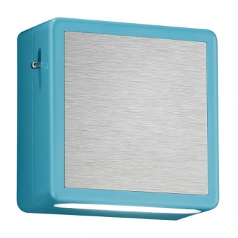 pvc нощна лампа, turquoise, trio, foxi, led, 2w, 100lm, 3000k, 25719