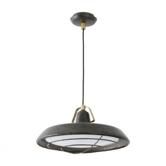 метален пендел, old brown, faro, plec, led 1x15w, 2700k, 1200lm, 66210
