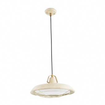 метален пендел, off white, faro, plec, led 1x15w, 2700k, 1200lm, 66211