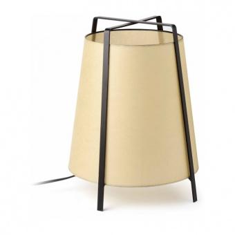 хартиена настолна лампа, black, faro, akane, 1x20w, 28370