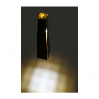 метален пендел, black, faro, pluma, led 1x6w, 3000k, 450lm, 64172