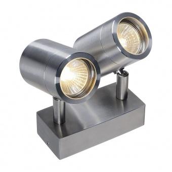 стоманен градински спот, stainless steel, slv, sst 304 double, 2x35w, 233301