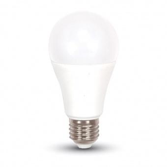 led лампа 11w, e27, студена светлина, a58 bulb, samsung чип, 6400k, 975lm, 179